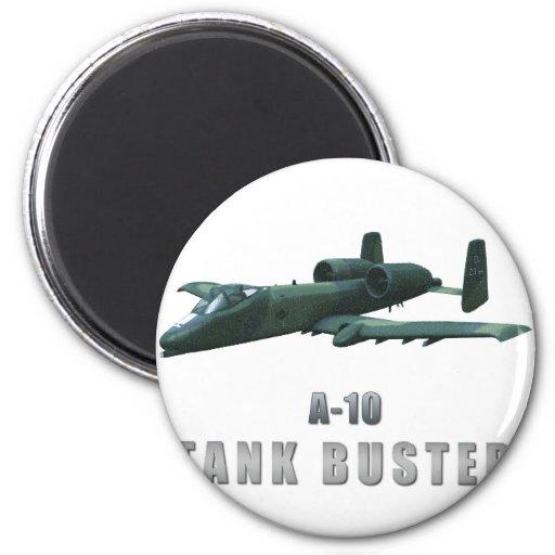 A-10 Tankbuster Imán Redondo 5 Cm
