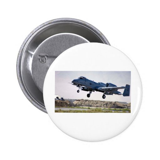 A-10 'tankbuster' pinback buttons
