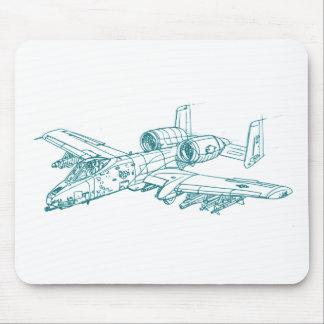 A-10 Thunderbolt 2 Mouse Pad