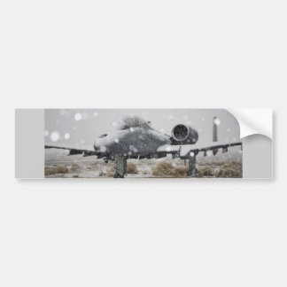 A-10 THUNDERBOLT BUMPER STICKER