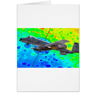 A-10 Thunderbolt Greeting Cards