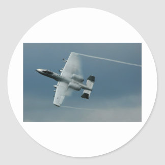 A-10 Thunderbolt Classic Round Sticker