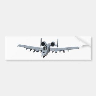 A-10 Thunderbolt II Car Bumper Sticker