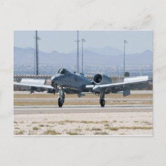 A-10 Thunderbolt II Flaps Postcard