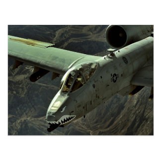 A-10 Thunderbolt II Postcard