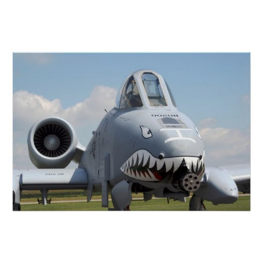 A-10 Thunderbolt II Posters