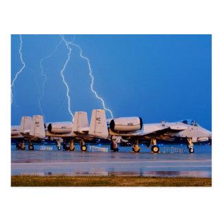 A-10 Thunderbolt II's Postcard