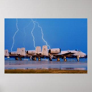 A-10 Thunderbolt II's Poster