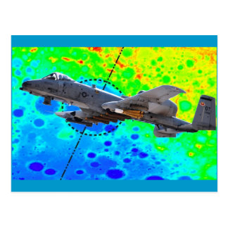 A-10 Thunderbolt Postcard