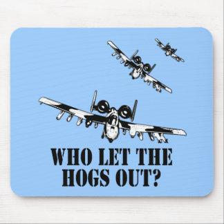 A-10 Warthog Alfombrillas De Raton