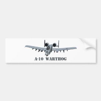 A-10 Warthog Car Bumper Sticker