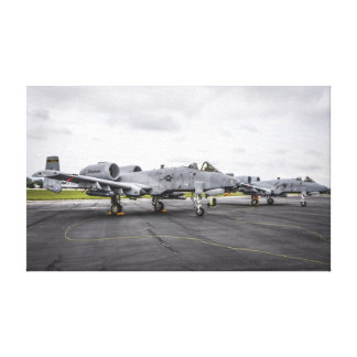 A-10 Warthog Impresiones De Lienzo