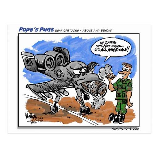 A-10 Warthog Postal