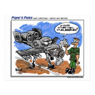 A-10 Warthog Postales