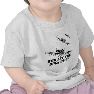 A-10 Warthog Tees