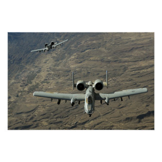 A-10 Warthogs Póster
