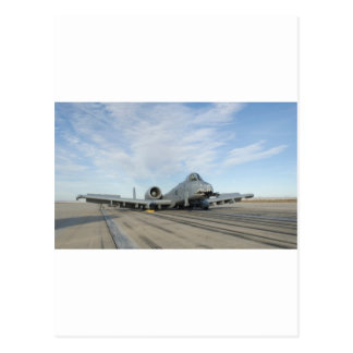 A-10 'wheels up' postcard