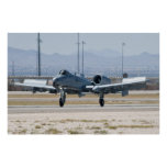 A-10A Thunderbolt II, WA AF 80 184 Flaps Poster