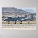 A-10A Thunderbolt II, WA AF 80 200 Landing Posters