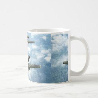 A-10's Classic White Coffee Mug