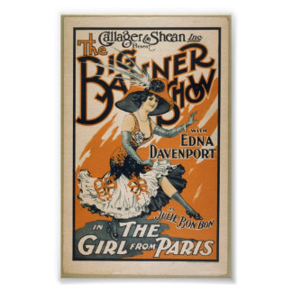 A 1910 theatre poster
