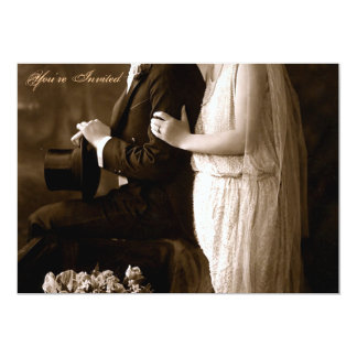 A 1920's Wedding Invitation