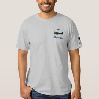 A-1 embroidered Tee Shirt W/Callsign