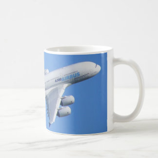 A-380 aircraft coffee mug