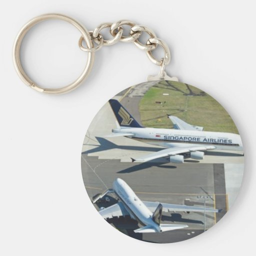 A-380 AND B-747 KEYCHAIN