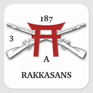 A 3/187th Infantry RAKKASANS Stickers