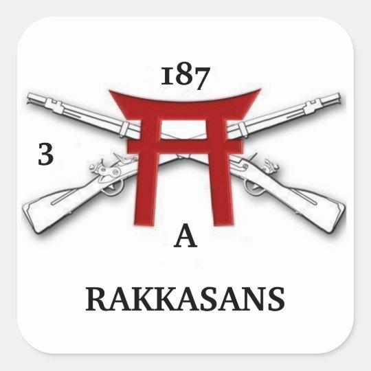 A 3/187th Infantry RAKKASANS Stickers