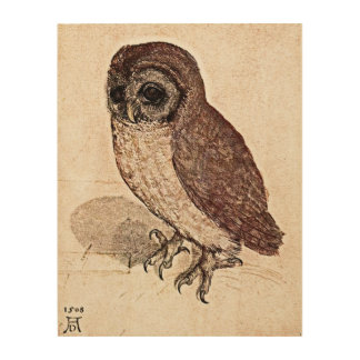 A 500 Year Old Drawing Wood Canvases