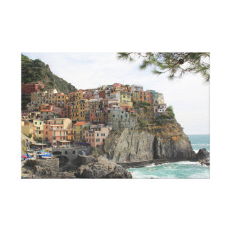 A 5 Terre's beautiful landscape Canvas Print