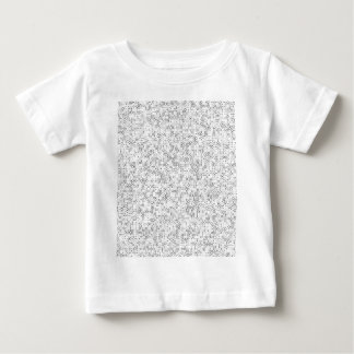 A-6 Black on White Baby T-Shirt