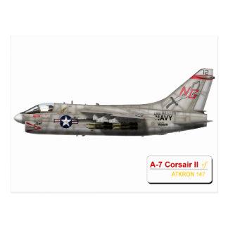 A-7 argonautas VA-147 del corsario II Postal