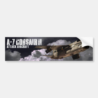 A-7 Corsair II Car Bumper Sticker