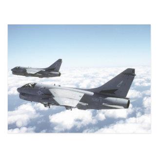 A-7 Corsair II Postcard
