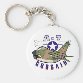 a-7 corsair keychain
