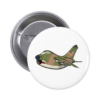a-7 corsair pinback button