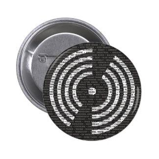 A a botón de la música electrónica de Z Pins