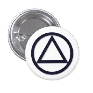 A.A. Botón del símbolo Pin