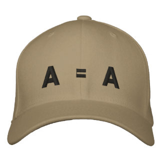 A = A EMBROIDERED BASEBALL HAT