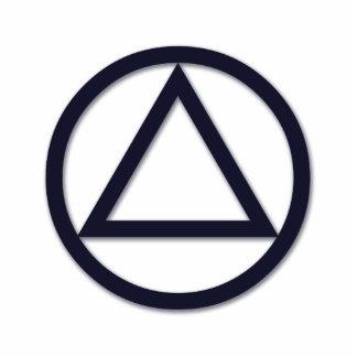 A.A. Escultura de la foto del símbolo Fotoescultura Vertical