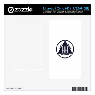 A.A. Logo MP3 Players Zune HD Decals