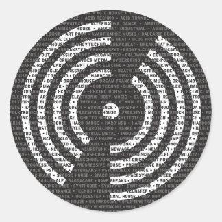 A a pegatina de la música electrónica de Z