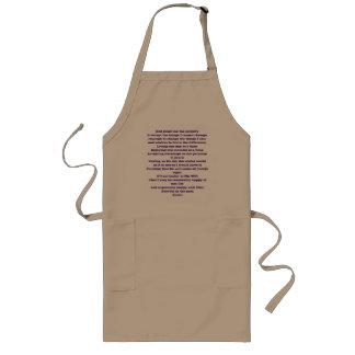 a.a prayer long apron