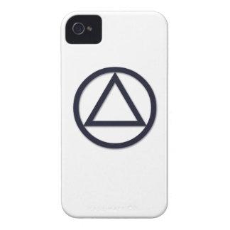 A.A. Symbol Blackberry Curve Case iPhone 4 Case