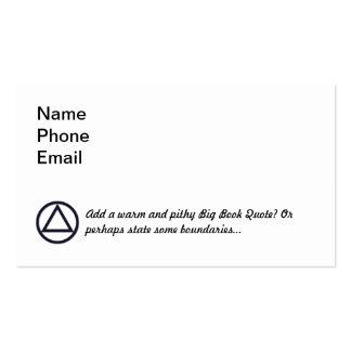 A.A. Symbol Business Card