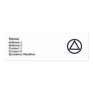 A.A. Symbol Business Card - Slim