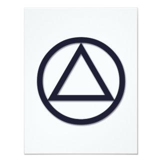 A.A. Symbol Invitation